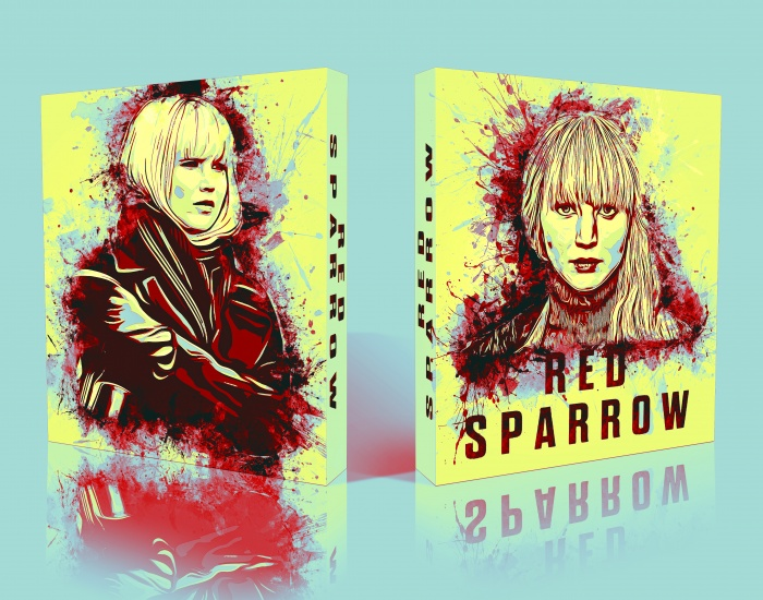 Red Sparrow box art cover