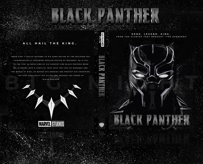 Black Panther (2018) box art cover