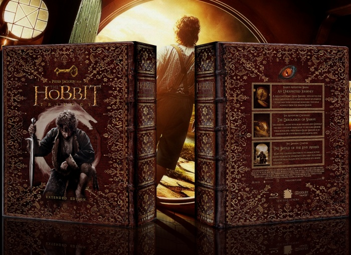 Hobbit Trilogy box art cover