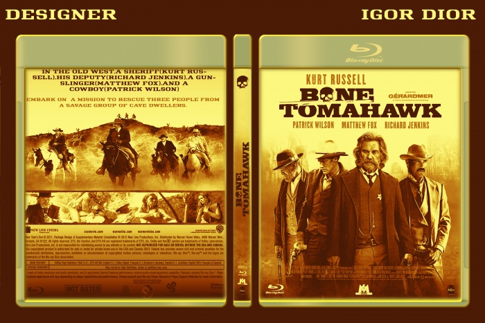 Bone Tomahawk box art cover