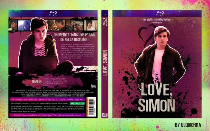 Love, Simon box art cover