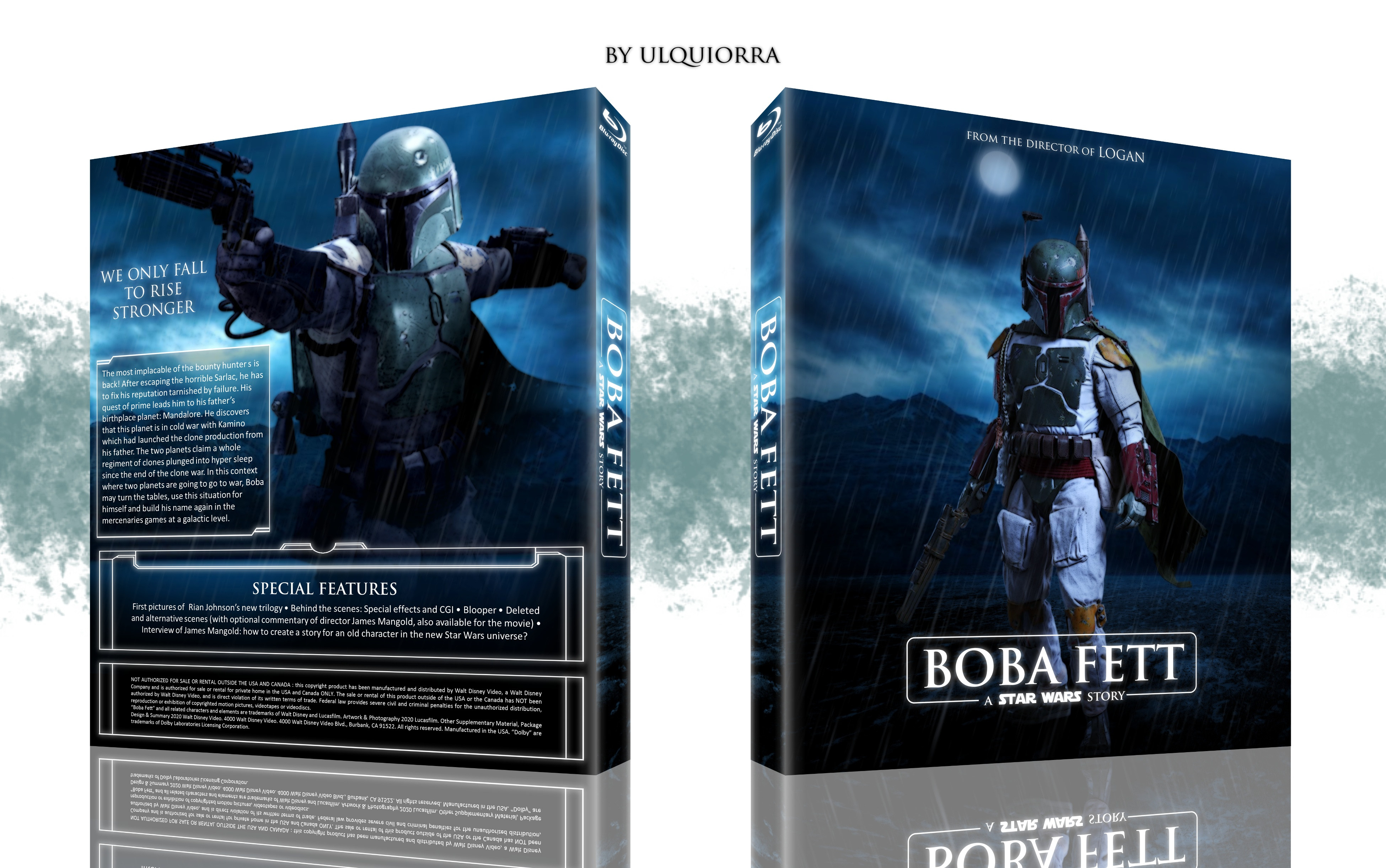Boba Fett: A Star Wars Story box cover