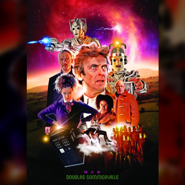 Doctor Who box art cover