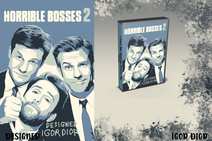 Horrible Bosses 2 box art cover
