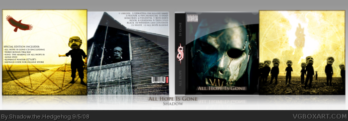 All Hope Is Gone: Special Edition box art cover