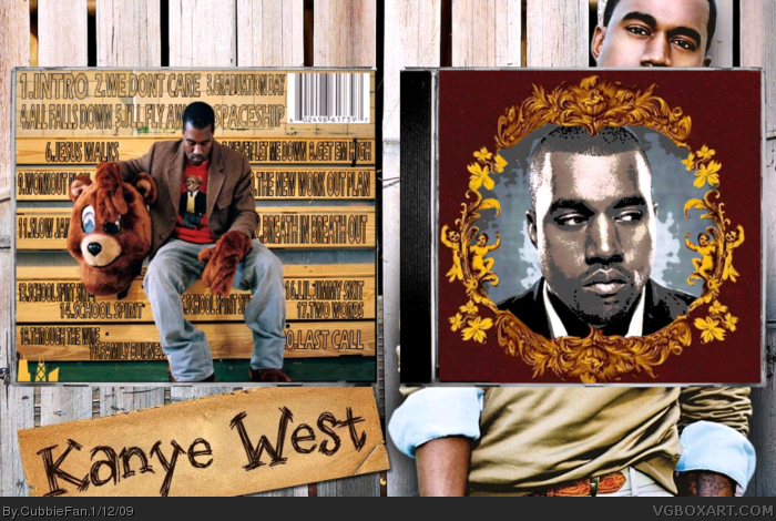 Kanye West: The College Dropout box art cover