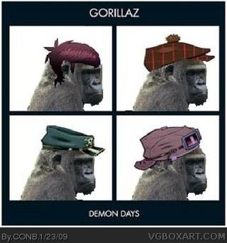 Gorillaz Demon Days Music Box Art Cover By Conb