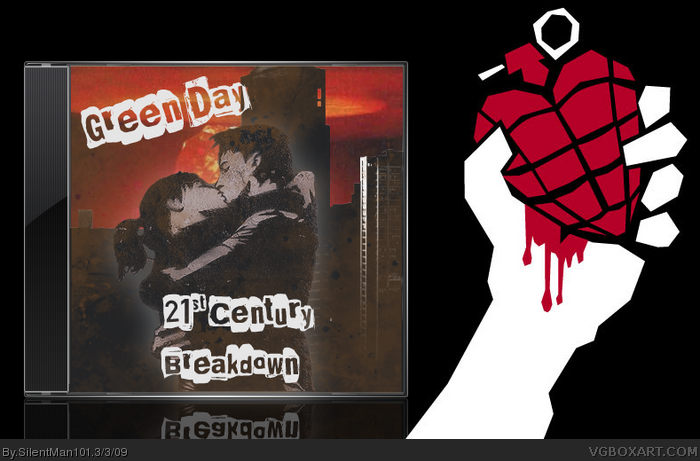 Green Day - 21st Century Breakdown box art cover