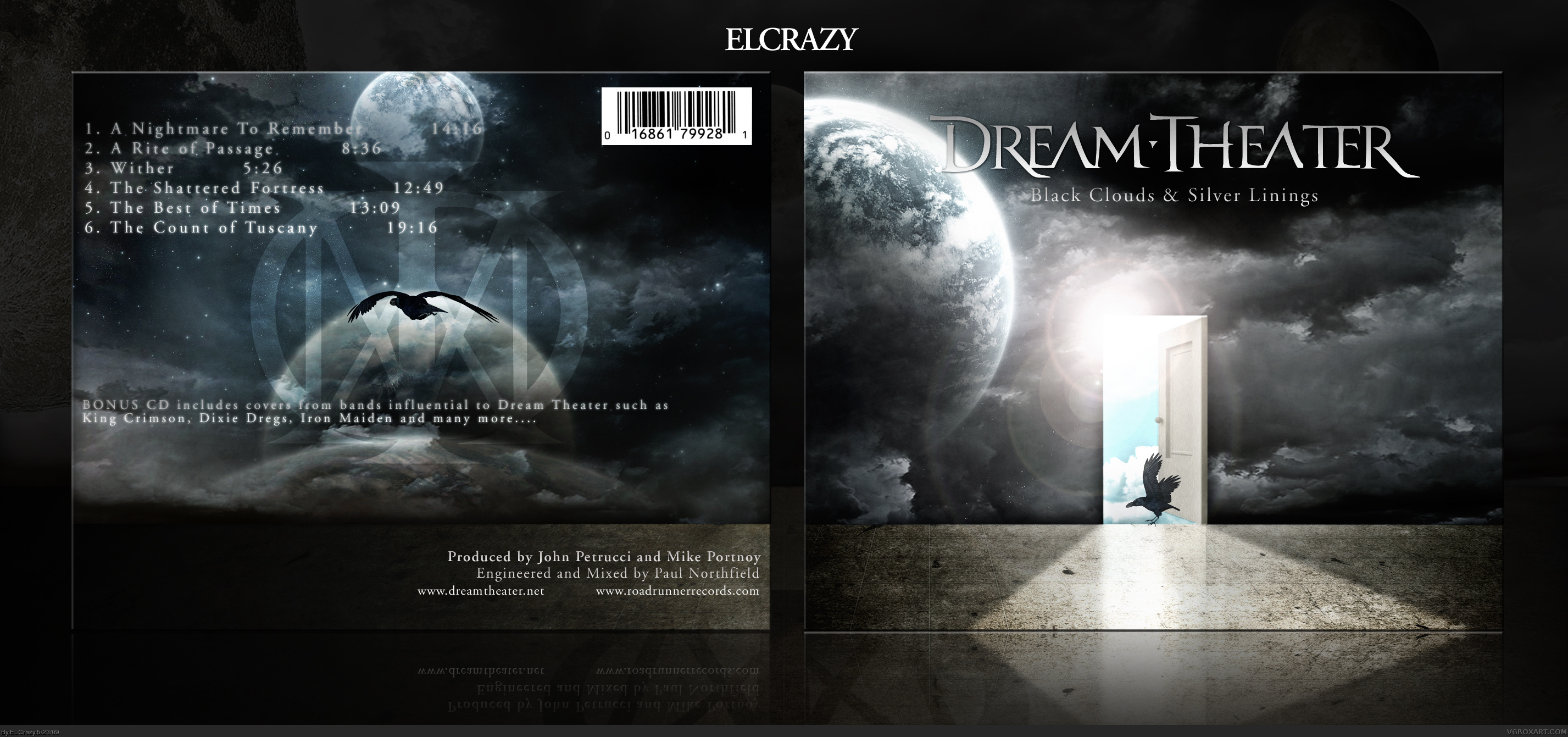 Viewing Full Size Dream Theater Black Clouds And Silver