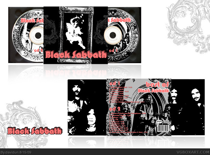 Black sabbath best of box art cover