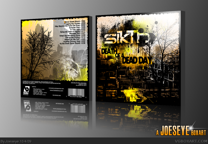 SikTh - Death of a Dead Day box art cover