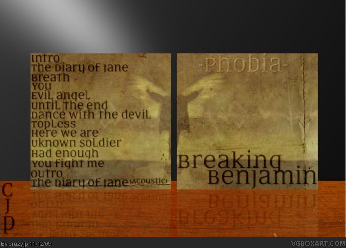 Breaking Benjamin: Phobia box art cover