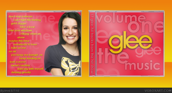 Glee The Music: Volume One box art cover