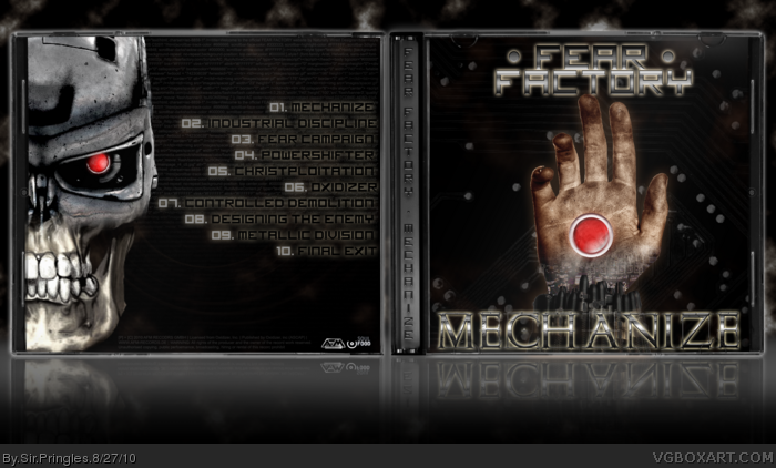 Fear Factory - Mechanize box art cover