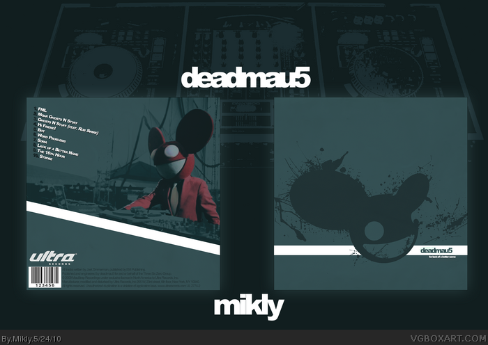 Deadmau5 - For lack of a better name box art cover