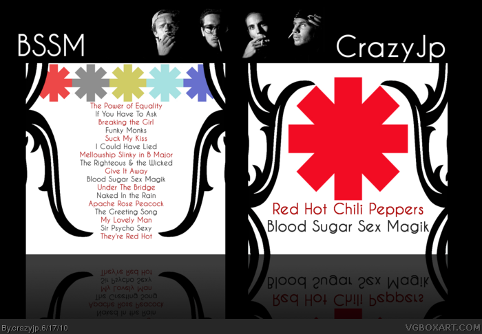 Red hot chili peppers blood sugar sex magik music box art cover by red hot chili peppers blood sugar sex magik box art cover m4hsunfo
