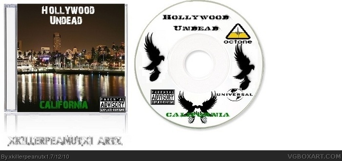 Hollywood Undead box art cover