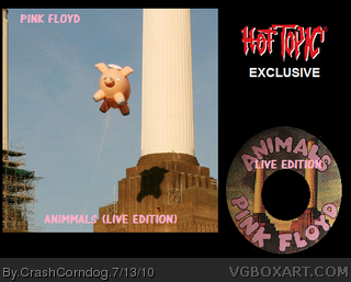 Pink Floyd: Animals  Live (Hot Topic Exclusive) box cover