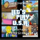The Simpsons ft. Peter Schilling - Let's Play USA Box Art Cover