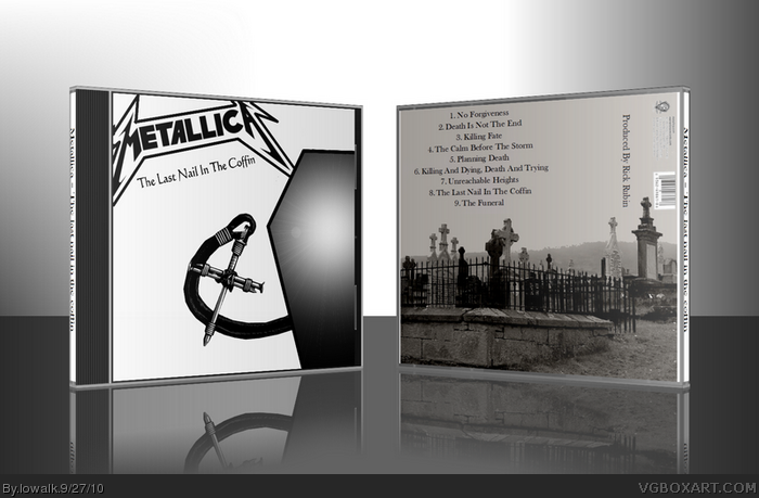 Metallica - The Last Nail In The Coffin box art cover