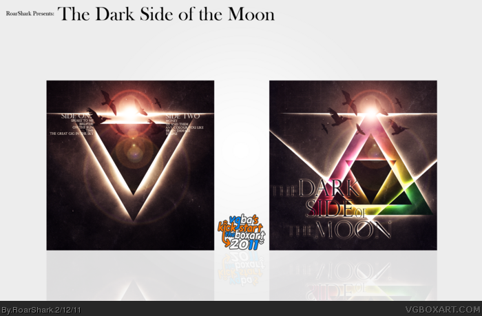 The Dark Side of the Moon (Pink Floyd) box art cover