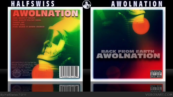 AWOLNATION: Back From Earth box art cover
