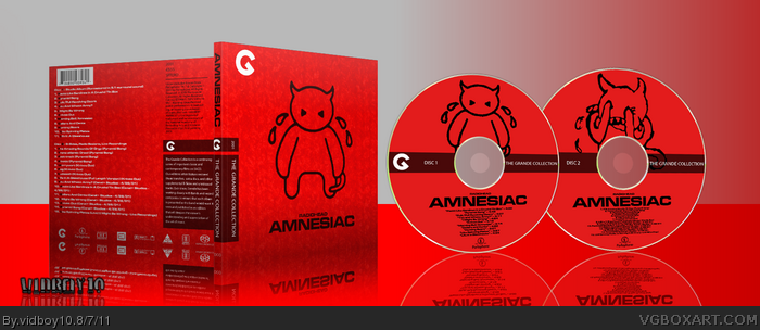 Radiohead - Amnesiac box art cover