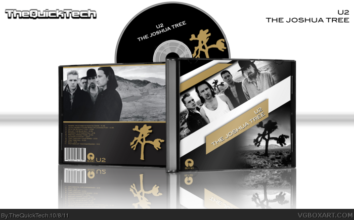U2 - The Joshua Tree box art cover