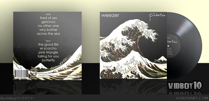 Weezer Pinkerton Music Box Art Cover By Vidboy10