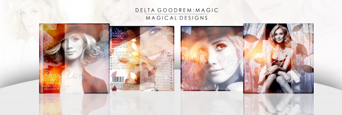 Magic (Deluxe Edition) - Delta Goodrem box art cover