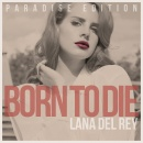 Lana Del Rey: Born To Die, Paradise Edition Box Art Cover