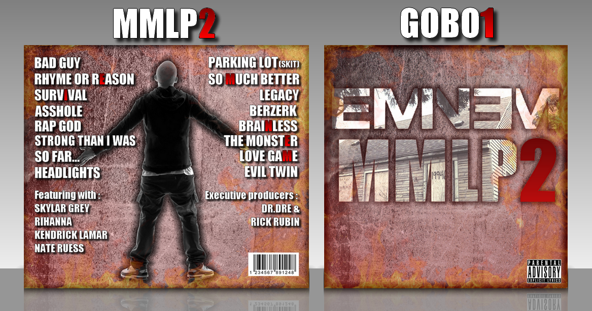 Eminem: The Marshall Mathers LP 2 box cover