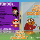 Cold Peach Roosevelt with Cox n' Crendor Box Art Cover