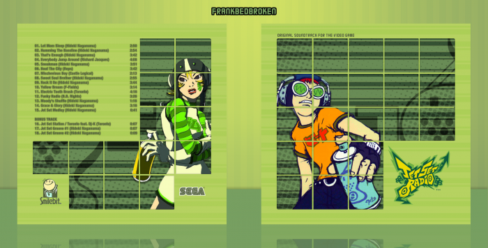 Jet Set Radio Soundtrack box art cover