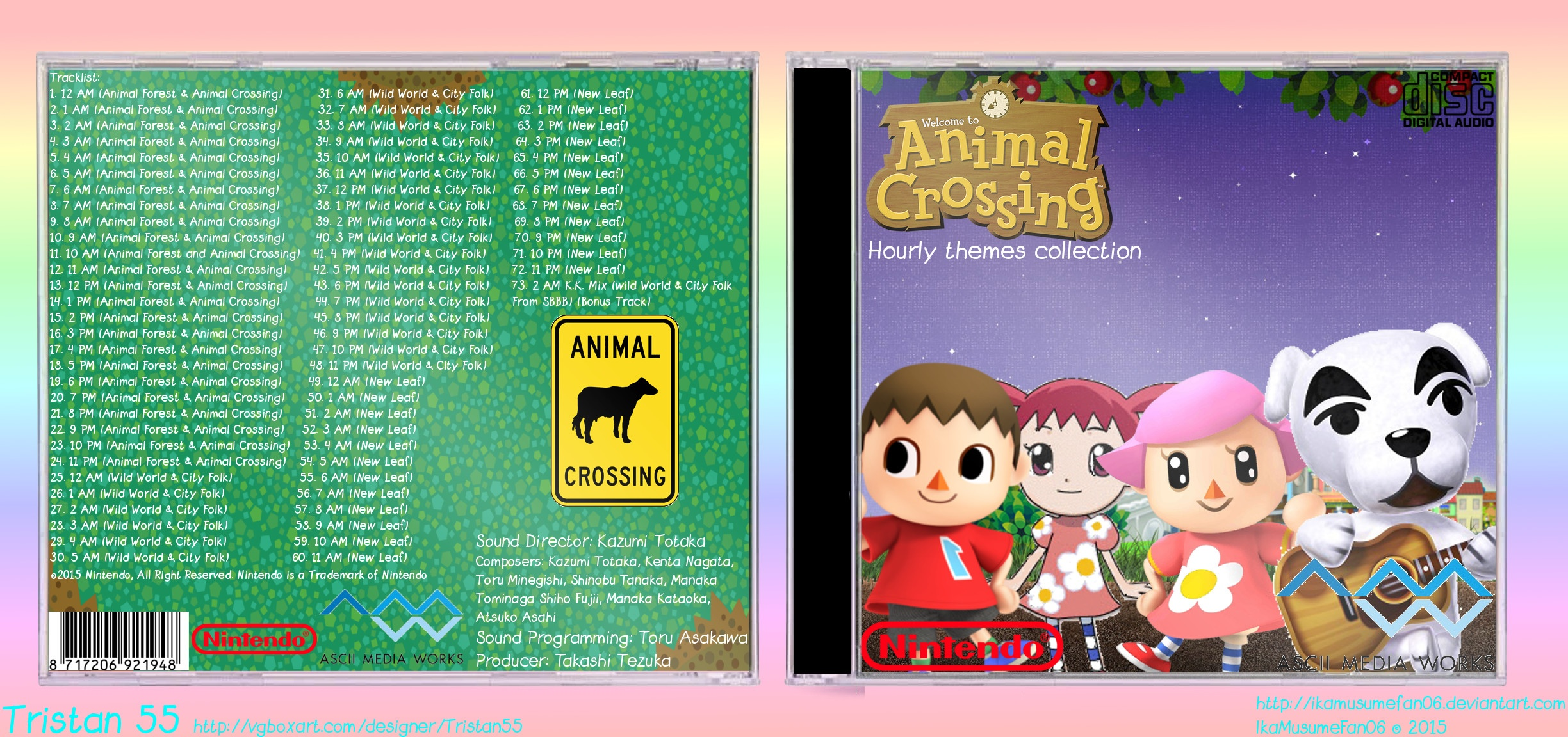 Animal Crossing: Hourly Themes Collection box cover