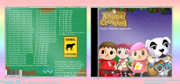 Animal Crossing: Hourly Themes Collection box art cover