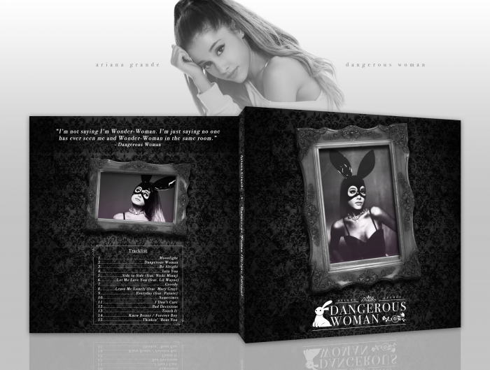 Dangerous Woman (Deluxe) - Ariana Grande box art cover