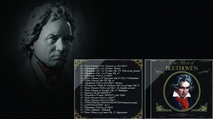 The Best of Beethoven box art cover