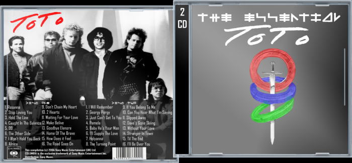 The Essential Toto box art cover