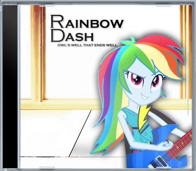 Rainbow Dash - Owl's Well That Ends Well box art cover