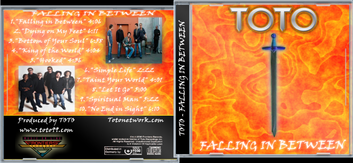Toto - Falling In Between box art cover