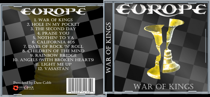 Europe - War of Kings box art cover