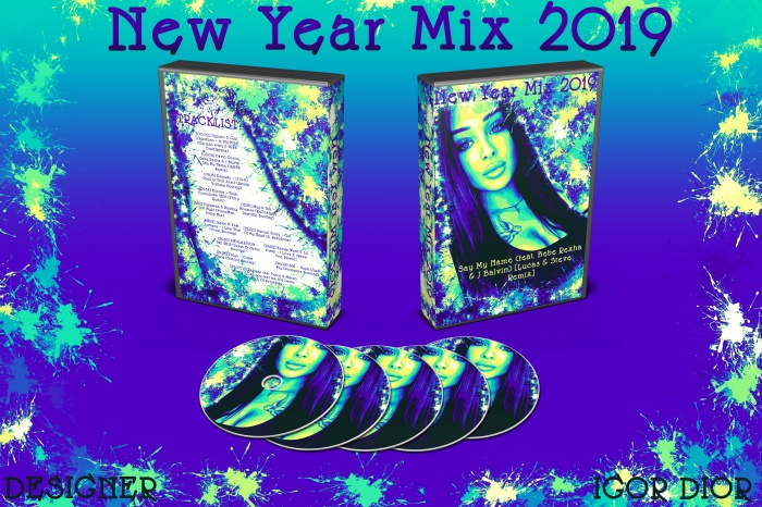 New Year Mix 2019 box art cover