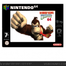 Donkey kong country 64 Box Art Cover