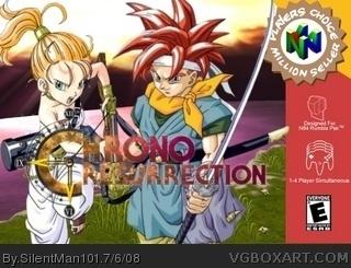 Chrono Resurrection Nintendo 64 Box Art Cover By Silentman101