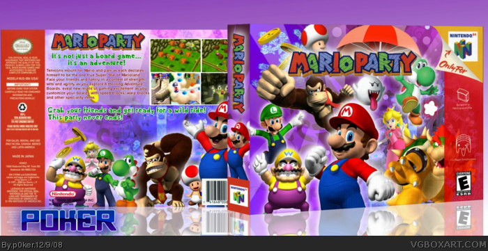 Mario Party box art cover