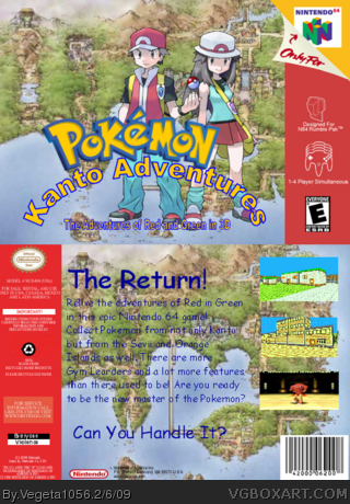 Pokemon: Kanto Adventures box cover