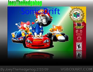 Sonic Adventure Nintendo 64 Box Art Cover by VGTM