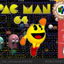 Pac Man 64 Box Art Cover