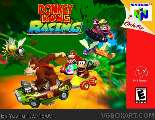 Donkey Kong Racing box cover